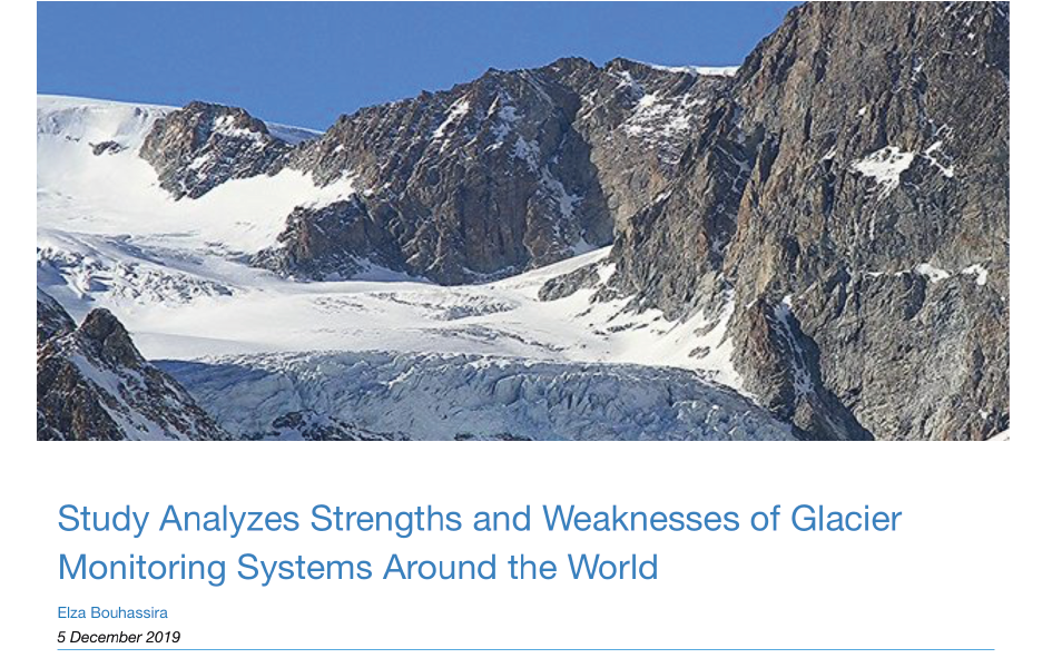 WGMS Glacier Hub