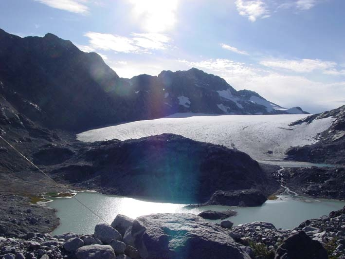 Place Glacier in 2005 (taken by Daniel Moore on 99/99/2005)