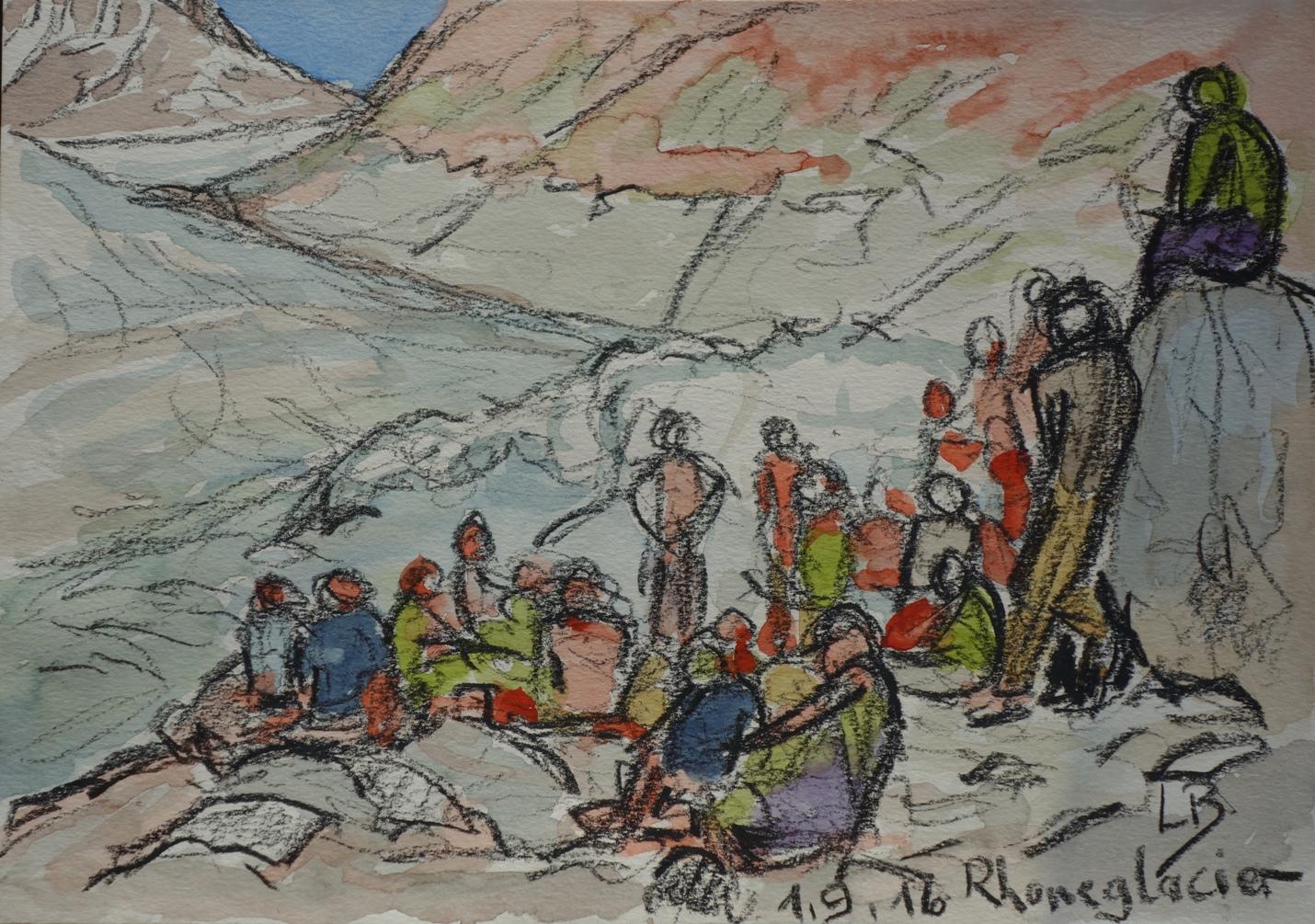 Zeichnung Ludwig Braun