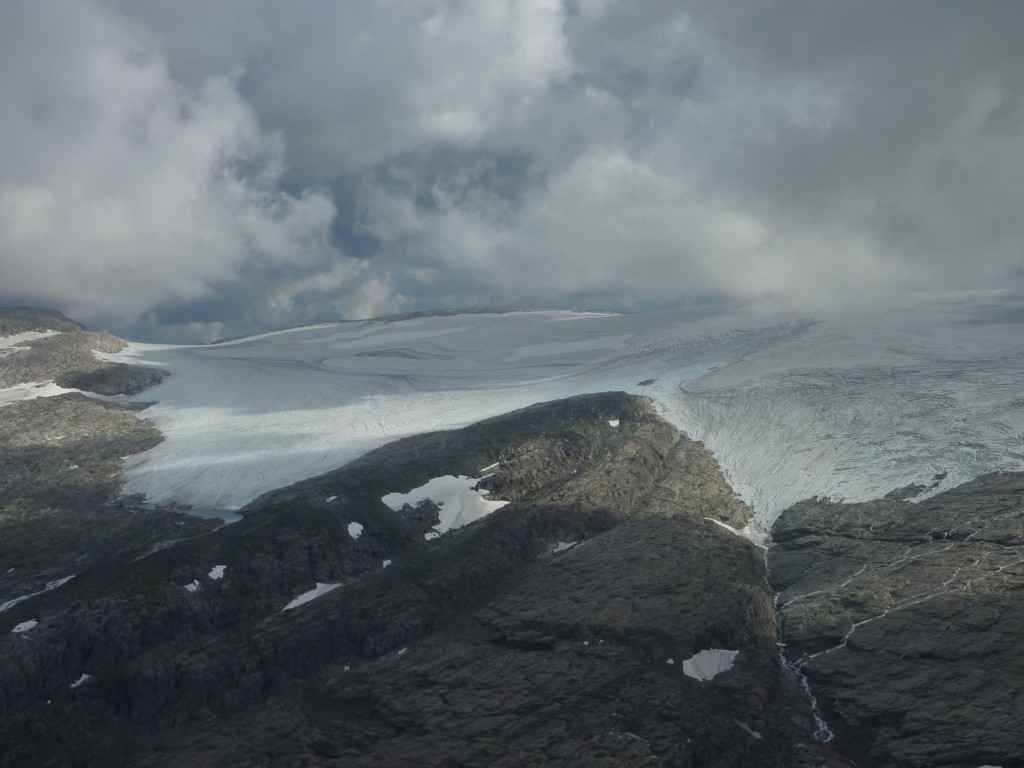 Aalfotbreen in August 2010 (taken by Hallgeir Elvehoy on 13/08/2010)