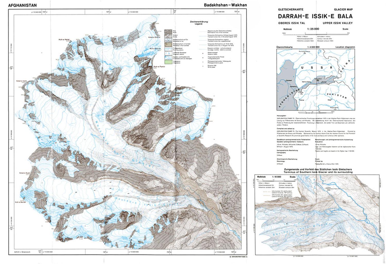 Fluctuations Of Glaciers Maps World Glacier Monitoring Service - Norway glacier map