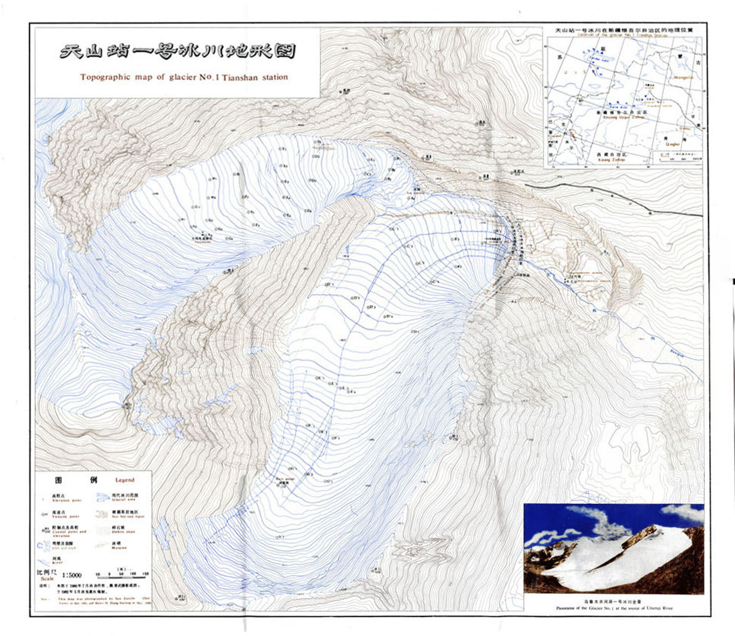 Fluctuations Of Glaciers Maps World Glacier Monitoring Service - Topographic map of austria 2008