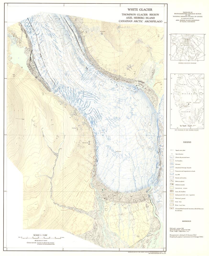glacier map collection – world glacier monitoring service