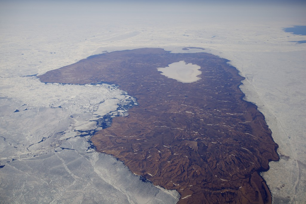 Meighen Ice Cap in 2011 (taken by Jürg Alean on 16/07/2011)