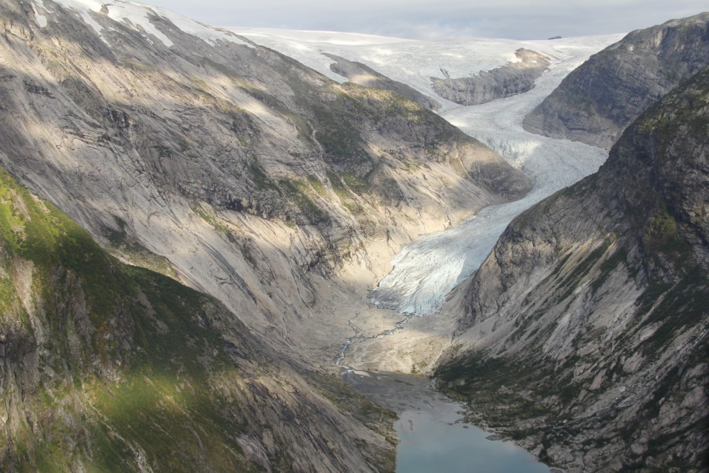 Nigardsbreen in August 2014 (taken by Hallgeir Elvehoy on 26/08/2014)